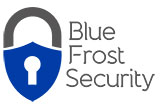 Logo Blue Frost Security