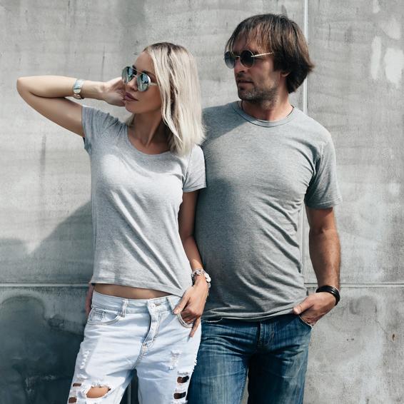 Combishirts für sie und ihn bedruckt von T-Shirtstar