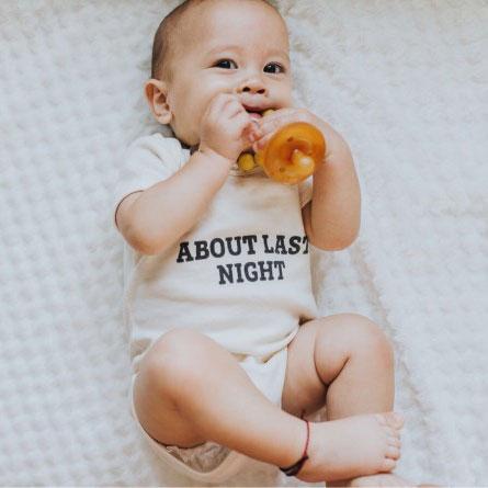 Individualiserte und bedruckte babyartikel