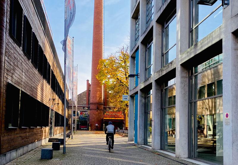 TShirtstar findet sich seit 2021 auf dem Uniongelände in Frankfurt